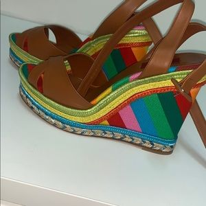 VALENTINO BNIB summer Wedge heel